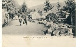 Laroche - La Nouvelle Route De Beausaint ... Avec Personnages  ( Voir Verso ) - La-Roche-en-Ardenne