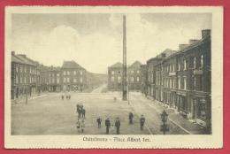 Châtelineau - Place Albert Ier - Animation - 1928  ( Voir Verso ) - Châtelet