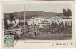 54 Bayon Route De Luneville Et  Côte Des Vignes TBE - Otros Municipios