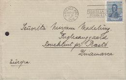 "Argentina Slogan Peguese La Stampilla..."" BUENOS AIRES 1922  Cover Letra PRÆSTØ (Arrival Cds.) Denmark San Martin Stamp - Argentinien"