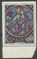 France - 1964 Notre Dame Stained Glass Window 60c MNH **    Sc 1090 - Ongebruikt