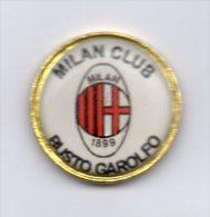Mi2 Milan Club Busto Garolfo Rossonero Calcio Pins Soccer Italy FootBall Pin - Calcio