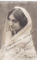 Spectacles - Belgique - Femme - Carte-Photo - Paule Marelly - Signed Photo Postcard - Autographe - Opera