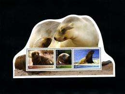 NEW ZEALAND - 2012  SEA LION  MS   MINT NH - Blocchi & Foglietti