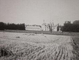 RARE !! carte-photo, PERCK, Chateau et �curies de Ribeaucourt, 1924, archives TOURING CLUB DE BELGIQUE