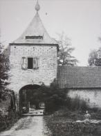 RARE !! carte-photo, PERCK, la ferme de LAETHOF de hoeve van LAETHOF, 1924, archives TOURING CLUB DE BELGIQUE
