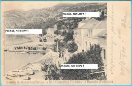 POZDRAV IZ ROSARIO ( Peljesac ) Near Dubrovnik * Croatia * Travelled 1901. * Peniso La Sabbioncello - Croatia