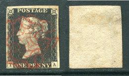 "GRANDE BRETAGNE/GREAT BRITAIN 1840 BEAU ""One Penny Black""  Cote 325,00 euros"