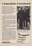 # BOEING 747 1970s Italy Advert Pub AMERICAN LUFTHANSA UNITED Airlines Airways Aviation Airplane - Advertisements