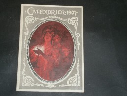 Calendrier 1907 - Calendriers