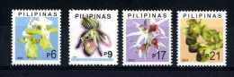 Filippine Philippines Philippinen Pilipinas 2003 Orchids 1st Print, 6p, 9p, 17p, 21p - Singles - MNH** (see Photo) - Filippijnen