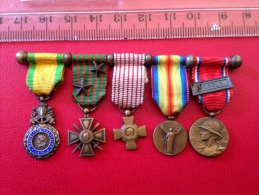 Très Belle Decoration Miniature Verdun Et Autre - Other Countries