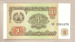 Tagikistan - Banconota Non Circolata FdS Da 1 Rublo P-1a - 1994 - Tadjikistan