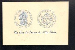 Monnaie - Un Ecu De France Du XVIII Siécle / Louis XV 1767 ( Gaufré ) - Monnaies (représentations)