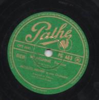 78 Tours : Jacues Helian Et Son Orchestre : WI HELMINE(fox Trot)-le Pain Sur La Planche (marche) - Jazz