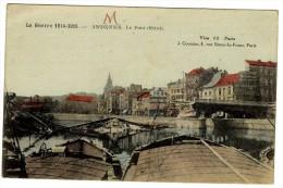 ANDENNE  LE PONT DETRUIT - Andenne
