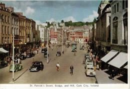 CORK CITY   ST. PATRICK'S STREET   BRIDGE  AND  HILL         (NUOVA) - Cork