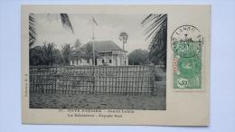 GRAND LAHOU Cote D'Ivoire LA RESIDENCE Facade Sud Afrique CPA Animee Postcard - Ivory Coast