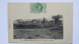 GRAND LAHOU Cote D'Ivoire LE CAMP VU DE LA MER Afrique 19 CPA Animee Postcard - Ivory Coast