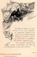 (d21-1, D21-2) PUB. Pour L'EXPOSITION SERVITUDE ET GRANDEUR MILITAIRES D'ALFRED DE VIGNY. 1898. - Publicités