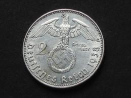2 Deutches Reichsmark 1938 E - Allemagne -Germany Third Reich **** EN ACHAT IMMEDIAT **** - 2 Reichsmark