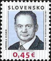 Slovakia - 2014 - President Of Slovakia Andrej Kiska - Mint Stamp - Slovakia