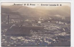 Romania - Poieni - Solca - Jud. Suceava - Wood Industry - Rumänien