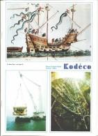 """- KODéCO... 1984. Revue Du Personnel KODAK PATHE....Photos..Kodak....Films....Navire """"LE MARY ROSE"""" En Couverture ..... - Photographs"""