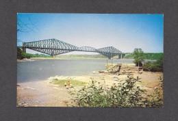 PONTS - LE PONT DE QUÉBEC - BRIDGE - PHOTO PAR S.J. HAYWARD - Ponts