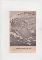 PORTAEREI SARATOGA NAVE AMMIRAGLIA U.S.A. - DEPLIANT DI PRESENTAZIONE VISITA NAVE - ANNO 1964 - Vecchi Documenti