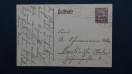Germany - Bayern - 1919 - Mi: P114I/01 Used - Postal Stationery  - Look Scan - Bavaria