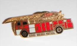 Camion Pompier Avec échelle Montréal - Pompieri