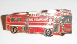 Camion Pompier Poste De Commandement Montréal - Pompieri