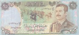 Iraq  - 25 Dinards (UNC, FDC, Perfect)
