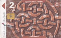 LATVIA  Phonecard With Chip  Kelti 8/2002 - Latvia