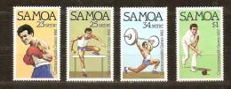 Samoa 1982 Yvertn° 517-20*** MNH Cote 4,00 Euro Sport - Samoa