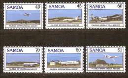 Samoa 1988 Yvertn° 649-54 *** MNH Cote 6,50 Euro Avions Vliegtuigen - Samoa