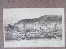 MARTINIQUE RUINE DE ST PIERRE DOS 1900 - Tahiti