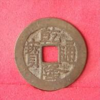 CHINA        OLD COIN  -    (Nº12496) - China