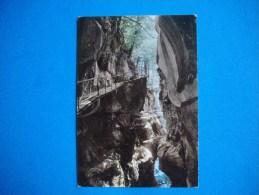 Cpm LAC D'ANNECY  ( Environs Du...)  -  74  -  Les Gorges Du Fier  -  Haute Savoie - Annecy