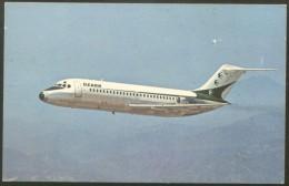 OZARK AIRLINES DC-9 POSTCARD