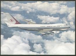 KOREAN AIRLINES BOEING 747 Bs POSTCARD - 1946-....: Ere Moderne