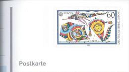 Kites.Aquiloni.Cometas.Cerfs-volants.Postal Stationery Issued Europa 1990. - Games
