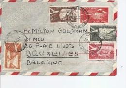 Yougoslavie ( Lettre Par Avion De 1952 De Sombor Vers La Belgique à Voir) - 1945-1992 Sozialistische Föderative Republik Jugoslawien