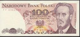 Poland 100 Zlotych 1986 P143e UNC - Polonia