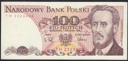 Poland 100 Zlotych 1988 P143e UNC - Pologne