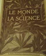 """@ RARE  LOT DE 14 EXEMPLAIRES DE LA 1ére ET 2ème ANNEE 1938-1939 """" LE MONDE DE LA SCIENCE"""" - Livres, BD, Revues"""