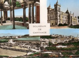 - SOUVENIR DE CARTHAGE. - Multivues - - Tunisia