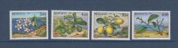 1990-MONACO.N°1749/1752** 4 SAISONS DU CITRONNIER - Unused Stamps