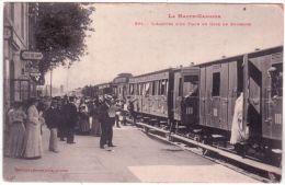 La Haute-Garonne - 264- L'arrivée D'un Train En Gare De BOUSSENS - Ed. Labouche - Andere Gemeenten